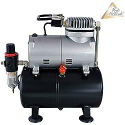 Profi-AirBrush Kompressor Universal II-mit Start/Stop-Automatik, LEISE und ENERGIESPAREND! Das OPTIMALE Standard-Gerät für alle Profis und Beginner LIMITIERTES SONDERANGEBOT