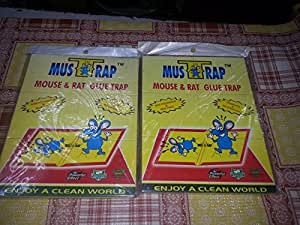 Set of 2 - MUSTRAP(Mouse & RAT Trap)