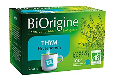 BiOrigine Infusion Thym 22 g - Lot de 3