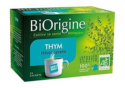 BiOrigine Infusion Thym 22 g - Lot de 3
