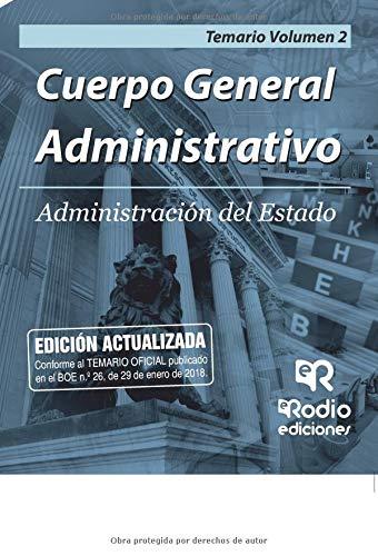 Cuerpo General Administrativo de la Administracion del Estado. Promocion interna. Temario. Vol 2