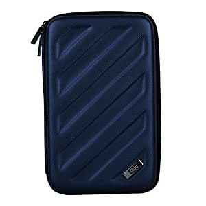 BUBM Portable EVA Hard Drive Case Travel Organizer Electronics Accessories/Cables & Accessories/Hard Drive Portable Hard Drive Case Small Bag Case for Electronics