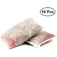 Lurrose 10PCS Chinese Medcine Bath Bags Original Té de baño totalmente natural para ayudar con el estrés Músculos adoloridos y mejor sueño