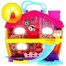 Glop Games  - Maletin playset mansion de lujo hamster