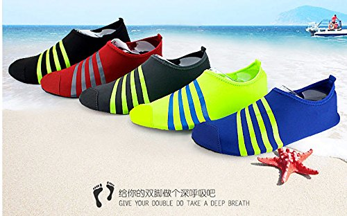 Thunder Unisex Water Skin Shoes Aqua Socks Barefoot Shoes for Beach Pool Water Sports, Yoga Exercise, Outdoor Running, Fitness