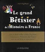 Le grand Bêtisier de l'Histoire de France de Alain Dag'Naud