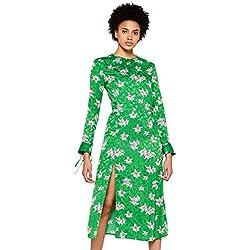find. MDR 40625 vestidos mujer, Verde (Green), 44 (Talla del fabricante: X-Large)