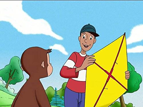Image of Curious George Flies A Kite/From Scratch