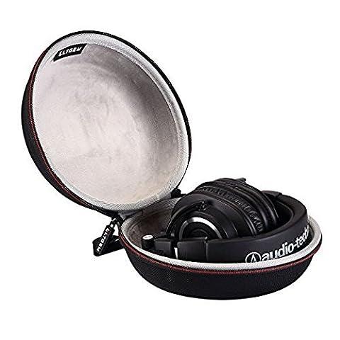 LTGEM Casque Universal Portable Case, Compatible Bose Soundtrue/Xo Vision/ Sennheiser/Maxell/Razer/Audio-Technica/Dr. (Maxell Leggero Cuffie)