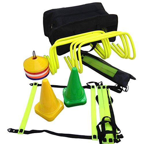 SAHNI SPORTS Pro Speed and Agility Soccer Training Kit (Multicolour)