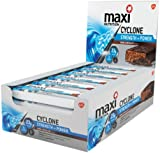 MaxiNutrition Cyclone Strength and Power Bars - Chocolate, 60 g  (Pack of 12)