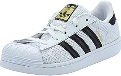 Adidas Originals Superstar Junior White Textile Trainers