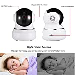 Wifi Camera 720p Wireless Ip Security For Home Indoor Cam Two Way Audio With Night Vision Room Webcam Surveillance Cameras System Hd Baby Monitor Motion Detection Instant Care Two-Way 2.4ghz Great