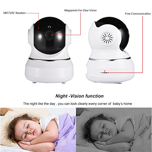 Wifi Camera 720p Wireless Ip Security For Home Indoor Cam Two Way Audio With Night Vision Room Webcam Surveillance Cameras System Hd Baby Monitor Motion Detection Instant Care Two-Way 2.4ghz Great 51bRU9Miy1L baby strollers Homepage 51bRU9Miy1L