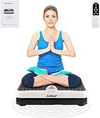Wefun Fitnessplatte Vibrationstrainer, für Den Büro-Wohnzimmer,Vibrationsplatte Body-Shaper der Eig