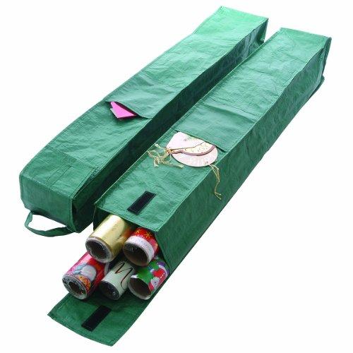 Bosmere Geschenkverpackung Ärmel G398 2x, grün (Teile Box Tool Schrank, Storage)