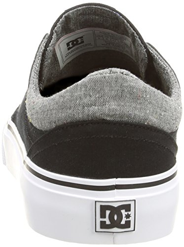 DC Trase TX SEXKSK Herren Sneakers Schwarz (BLACK/GREY/BLACK-XKSK)