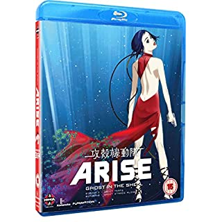Ghost In The Shell Arise: Borders Parts 3 And 4 (Blu-ray)