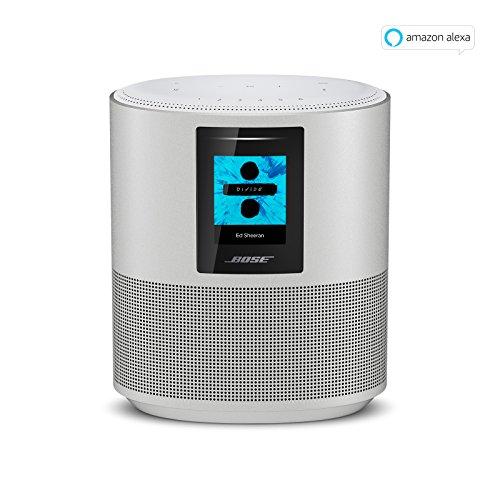 bose home speaker 500 mit integrierter amazon alexa sprachsteuerung silber homesuits. Black Bedroom Furniture Sets. Home Design Ideas