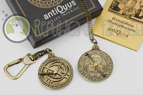 Astrolabios para llavero o colgante