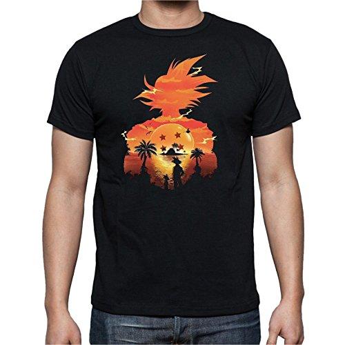 Camiseta de Hombre Dragon Ball Son Goku Anime Vegeta Piccolo Akira Tor