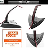 "KM-Gaming ""K-MKH1"" Mauskabelhalter / Gaming Maus-Bungee black [Gewicht: 330 Gramm / Made in Germany]"