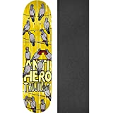 "Anti Hero Skateboards Tony Trujillo Conference Call Skateboard Deck - 8.28"" X 32"" With Black Magic Griptape - Bundle Of 2 Items"