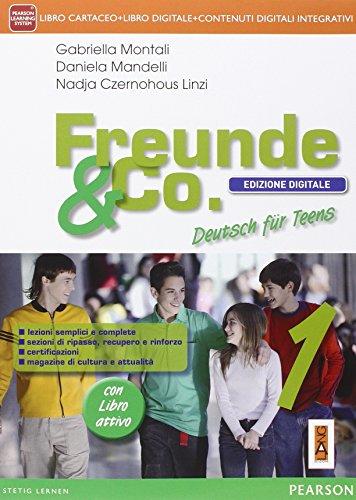 Freunde & co. Con fascicoloLIM. Per la Scuola media. Con CD Audio. Con e-book. Con espansione online. Con libro: 1