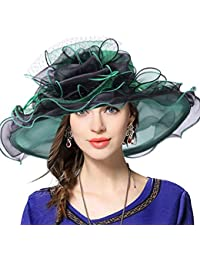 48083b51 VECRY Women's Church Derby Dress Fascinator Bridal Cap British Tea Party  Wedding Hat