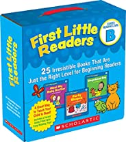 First Little Readers: Guided Reading Level B: 25 Irresistible Books That Are Just the Right Level for Beginnin