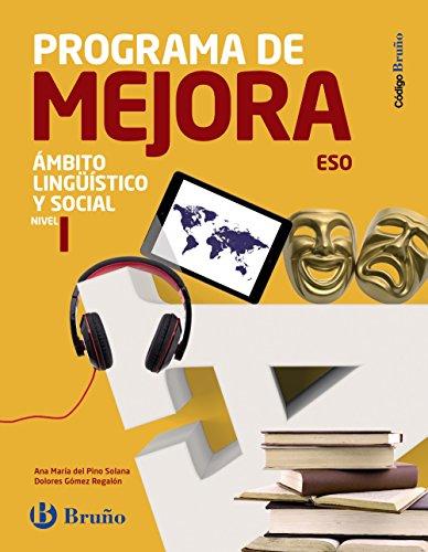 Código bruño programa de mejora ámbito lingüístico y social eso nivel i