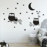 Wall Decals Game Stickers, Saihui Creative Pattern - Owl's Family - Art Painting DIY Removable Vinyl Mural for Kids Children Boys' Room Bathroom Decor Murals Wall Decal (A)