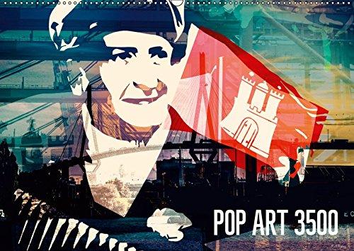 POP ART 3500 (Wandkalender 2019 DIN A2 quer): Bildcollagen, Foto Design, Grafik Artist, Mischtechnik, Popart, Landscape (Monatskalender, 14 Seiten ) (CALVENDO Kunst)