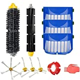 Brushes and Filters Kit for iRobot Roomba 600 Series 650 6530 620 615 605 Robotic Vacuum Cleaner Spare Parts
