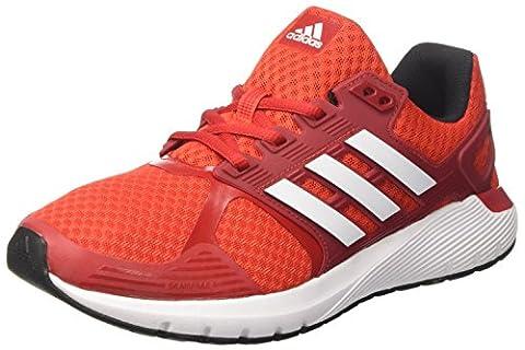 Adidas Herren Duramo 8 Turnschuhe, Rot (Rojbas/ftwbla/negbas), 47 1/3 EU