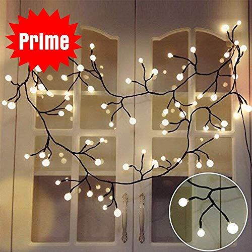 YMing LED Lichterkette Kugeln Innen Weihnachten Lichterkette 2.5M -
