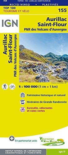 Aurillac St-Flour : 1/100 000