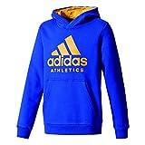 adidas Jungen Sport Id Trainingskapuzenpullover Pullover, Mysink/Tacyel, 140