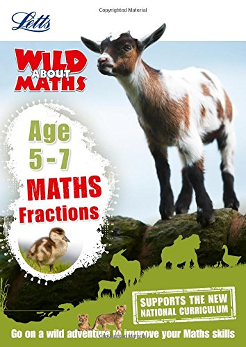 Maths _ Fractions Age 5-7 (Letts Wild About)