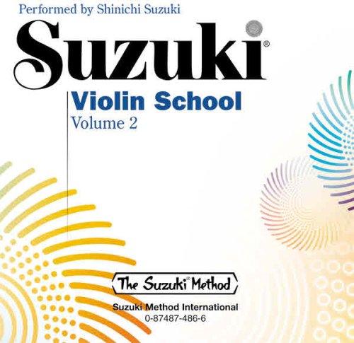 Suzuki Violin School: Volume 2 (Performance CD) CD