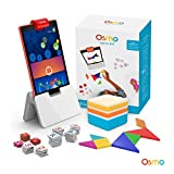 Image for board game Osmo - Genius Kit for Fire Tablet - 5 Hands-On Learning Games - Ages 6-10 - Problem Solving & Creativity - STEM - (Osmo Fire Tablet Base Included - Amazon Exclusive)