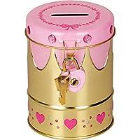 Spiegelburg 14588 Hucha Lata de Metal Princesa Prinzessin Lillifee con Piedras Brillantes