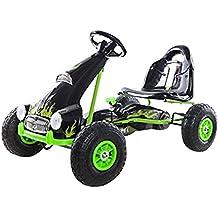 Ricco PB9688A Kart à pédale sur roues en caoutchouc pour enfant