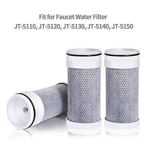 JETERY ACF Ersatz Wasserhahn Wasser Filter für jt-5110Filtration System (3Pack) -