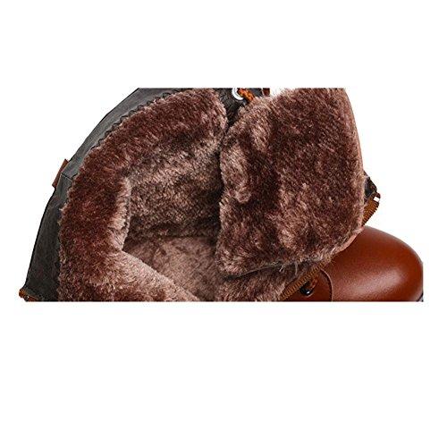 Bottes Pour Femmes Eau Froide Tête Plate Protection De La Cheville Pour L'hiver Chaud 40