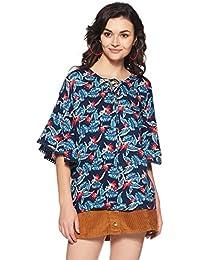 DJ&C By fbb Women's Floral Regular Fit Vest Top
