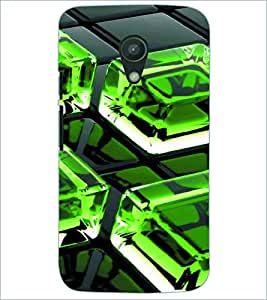 PRINTSWAG ICE CUBE Designer Back Cover Case for MOTOROLA MOTO G2