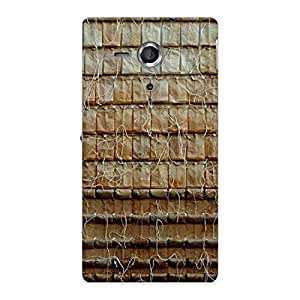 Special Wall Back Case Cover for Sony Xperia SP