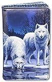 Damen Fantasy-Geldbörse mit Wölfen - Warriors of Winter | Geldbeutel, mehrfarbig