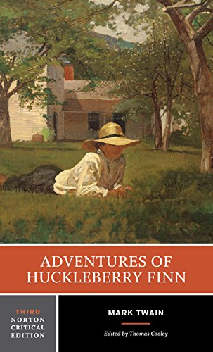 Adventures of Huckleberry Finn (Norton Critical Editions) par Mark Twain, Thomas Cooley